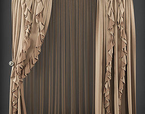 Curtain 3D model 189 realtime