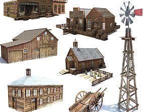3D model Wild West Pack