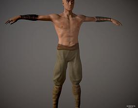 Battle Monk 3D asset