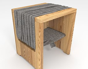3D model Tommaso Bistacchi Benches