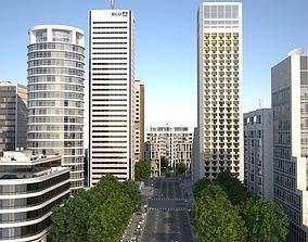 White City 3D asset realtime