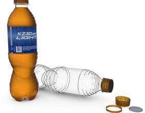 3D model Soda Bottle Rev2