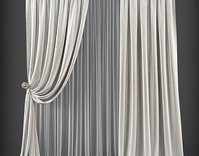 Curtain 3D model 198 realtime