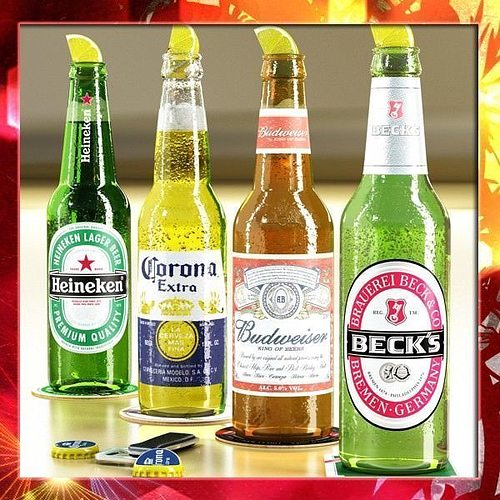 Beers Bottles