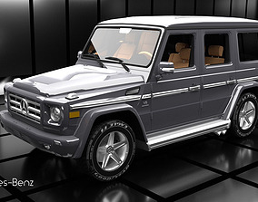 Mercedes-Benz G55 AMG 3D
