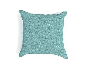 3D Square Pillow