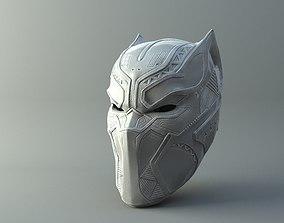 Black Panther Mask from Civil War 3D printable model