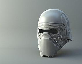 3D printable model ren Star Wars Kylo Ren Helmet