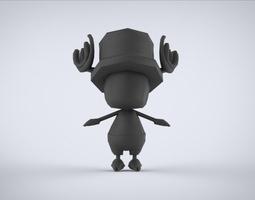 base model chooper 3D asset