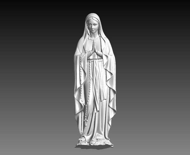 maria statue  3d model stl 1