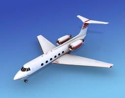 Grumman Gulfstream IV V02 3D model