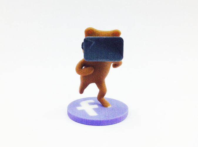Virtual Reality Facebook Bear