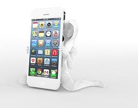 3D printable model other Woman Smartphone Holder