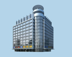 3d exquisite designer commercial mall