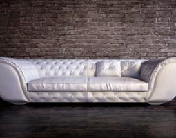 corte zari sofa 3d model max obj