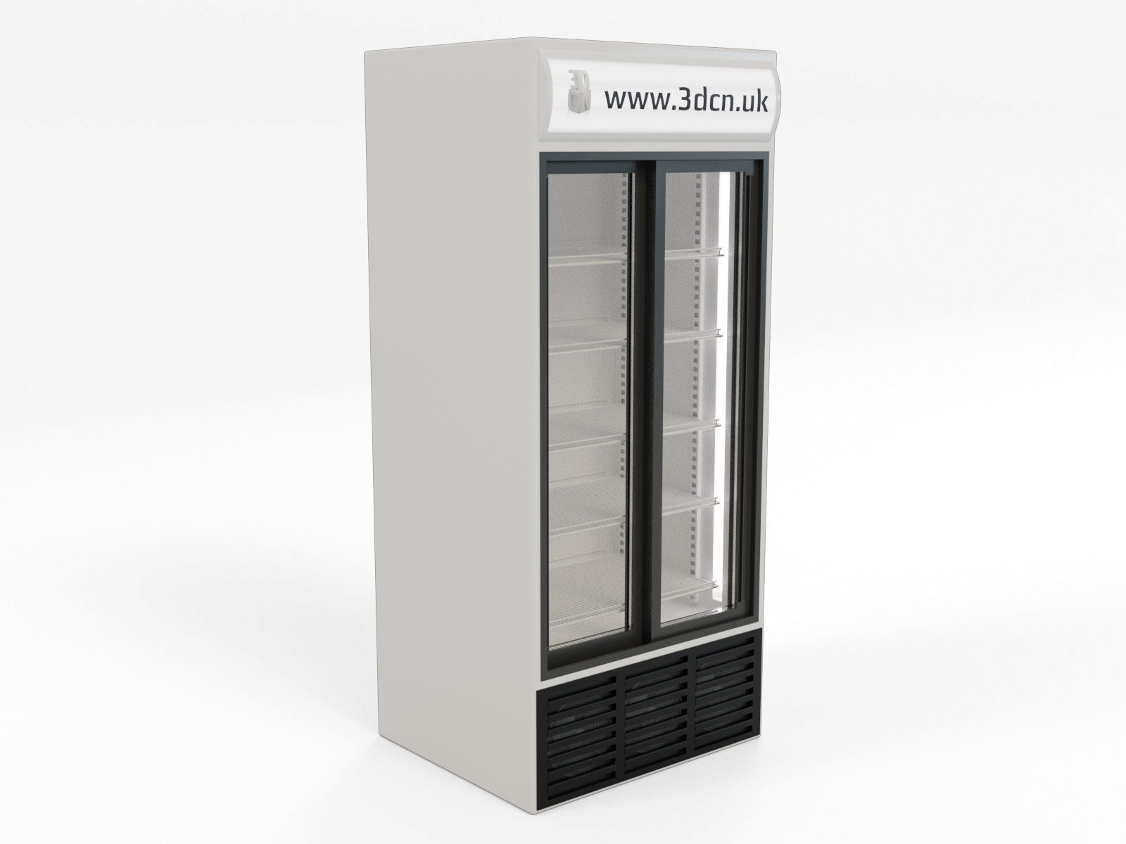 Freezer supermarket display unit