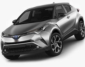 3D model Toyota C-HR 2017