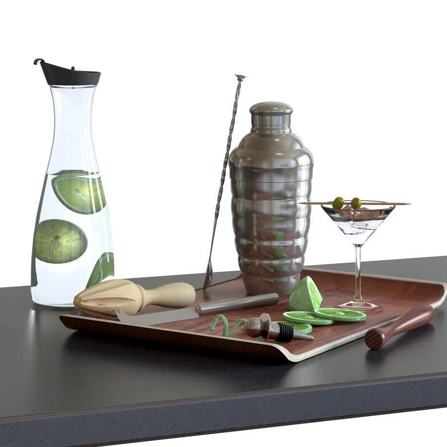 Cocktail Set - KITCHEN KRAFT Luxe Lounge Shaker