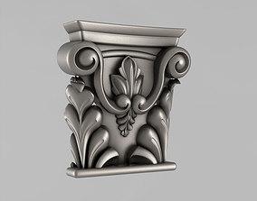 Capitals 3D printable model wall