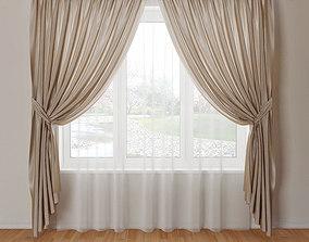 3D model Curtain 04