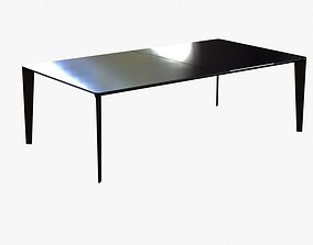 3D Holly Hunt shadow dining table