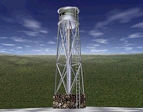 3D model Water Reservoir Textured