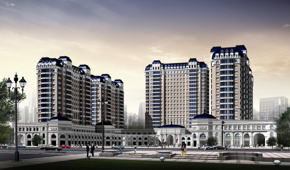 High End Carports : High end buildings for hotels d model max cgtrader