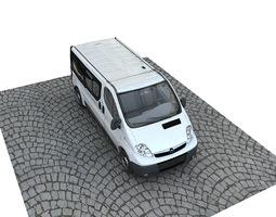 3D Opel Vivaro