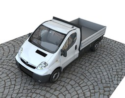 3D Opel vivaro pickup