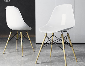 3D model Chair Vitra DSW Eames Plastic Side
