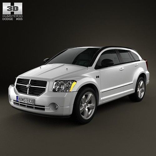 dodge caliber 2010 3d cgtrader. Black Bedroom Furniture Sets. Home Design Ideas