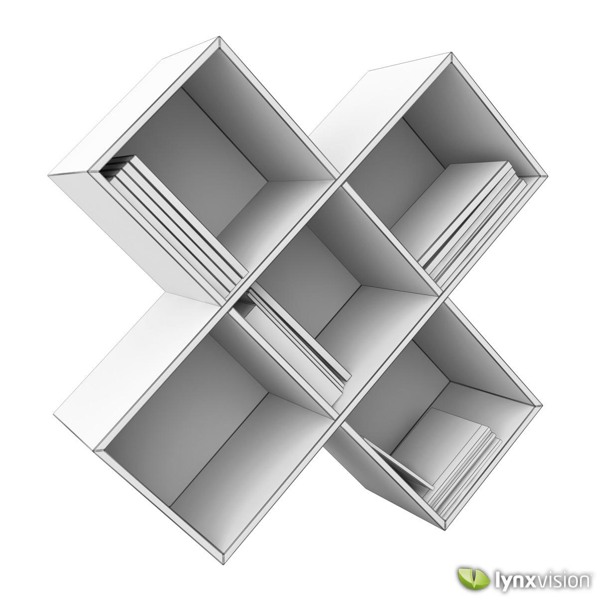 ... dark wood cd-dvd rack 3d model max obj fbx 4 ...  sc 1 st  CGTrader & Dark Wood CD-DVD Rack 3D model   CGTrader