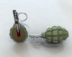grenade f1 3D model