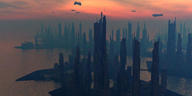 Tristram Lansdowne Sci-Fi Islands — DOP