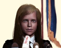 miniatures 3D printable model Natalia Poklonskaya