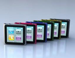 ipod nano 6G 3D