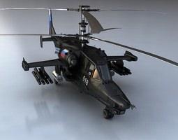 Ka-50 Black Shark  3D Model