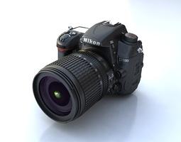 3D Nikon D7000 d-7000