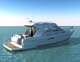 riviera 3600 sport yacht 3d