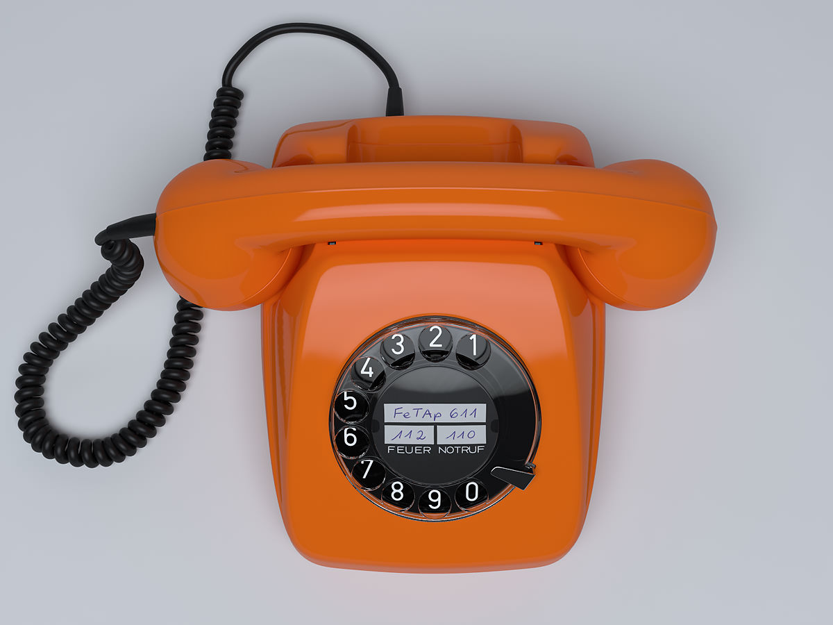 Retro Telephone FeTAp 611