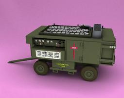 3D model A M32A-60A Generator