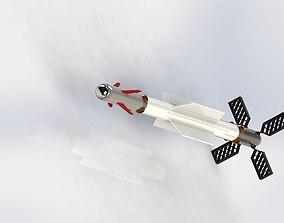 Air-Spase-Air Missile 3D model