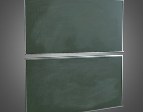 Chalk Board - PBR Game Ready 3D asset