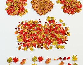 3D asset Autumn Leaves