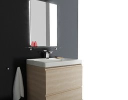 Bathroom set 02 3D