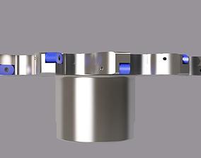 3D face mill cutter