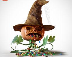 3D Mr pumpkin