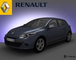 Renault Megane Hatchback 2009 3D