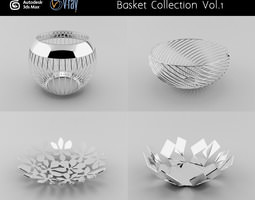 Basket Collection Vol 1 3D model