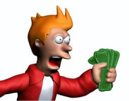 Take My Money 3D Model